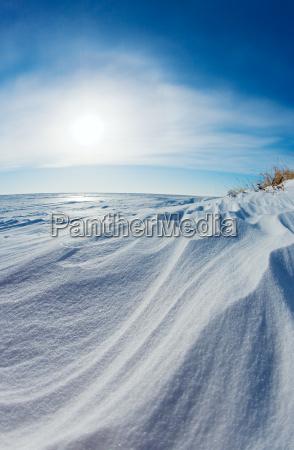 blu artico antartico clima freddo fondale