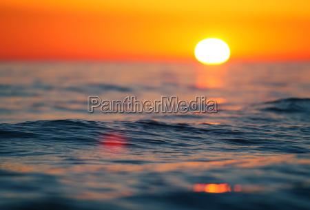 tramonto riva del mare spiaggia alba