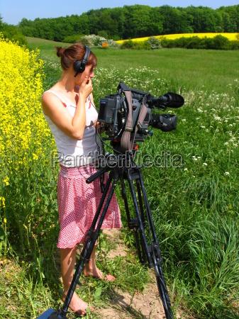 registrazioni documentazione videocamera natura
