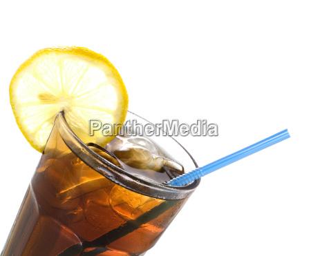 un bicchiere di coca