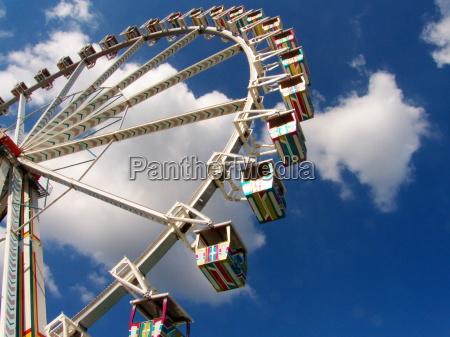 luna park ruota ruota panoramica
