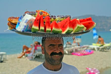 ritratto venditori di frutta turchia