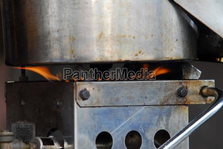 acciaio inossidabile cucinare cucina fuoco incendio