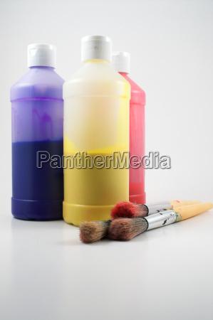 educazione arte spazzola dipingere verniciare artisti