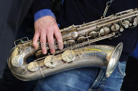 sassofono musicista jazz