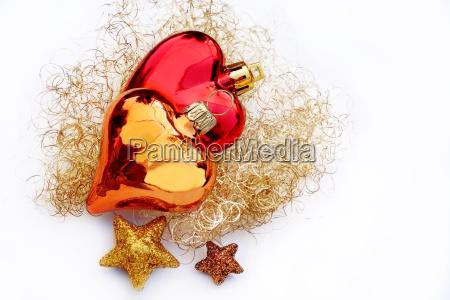 decorazione capelli d39angelo stella cuore oro