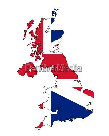 inghilterra bandiera paese unito geografia regno
