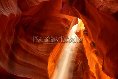 luce arenaria gola canyon raggio