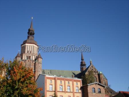 torre citta anseatica campana stralsund mechlenburgvorpommern