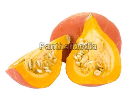 verdura zucca nucleo kernel autunno hokkaido