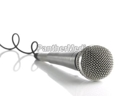 argento dinamico cavo audio microfono cablare