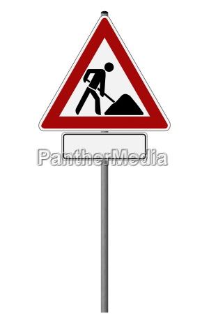 traffico didascalia segnale cartello stradale descrivibile