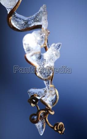 blu inverno freddo era glaciale ghiacciolo