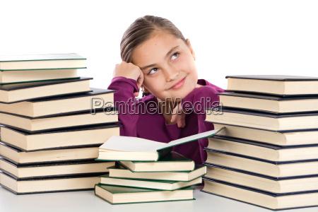 libri pensiero adorabile molti ragazza ragazze