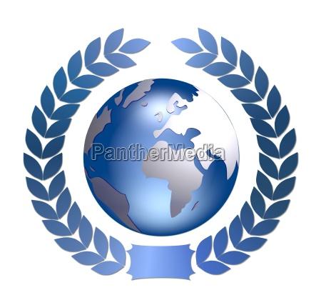 laurel wreath earth