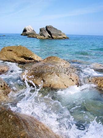 onde acqua mediterraneo acqua salata mare