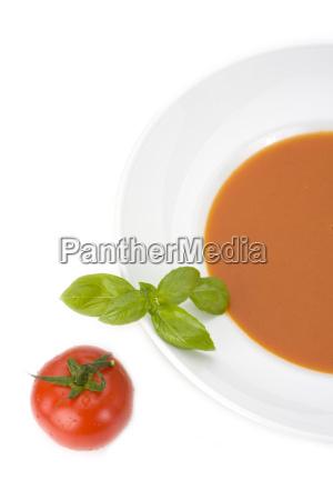 zuppa di pomodoro fatta in casa
