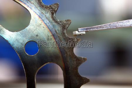 misura ruota ruota dentata collaudare esaminare