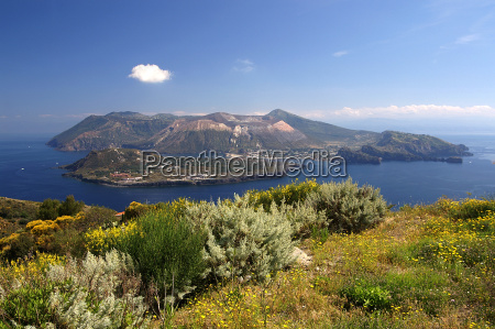 sicilia vulcano italia isola
