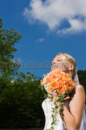 estate occhi idilliaco bouquet blu compatto