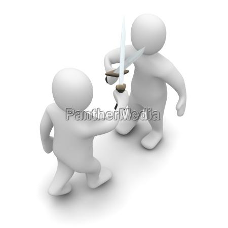 combattimento guerra combattere spada arma attaccare