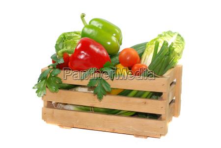 scatola vegetale