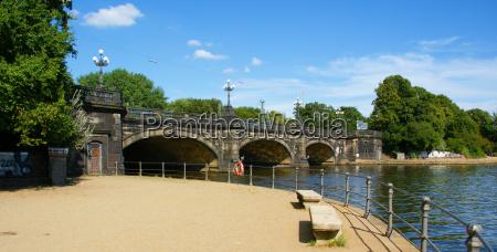 ponte stile di costruzione architettura ringhiera