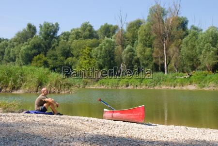 riserva naturale danubio kayak canoa barca