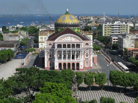 amazonas teatro manaus in brasile