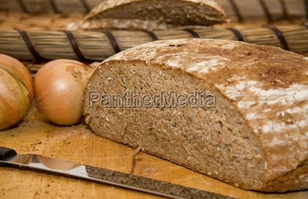 pane alimenti di base pagnotta arma