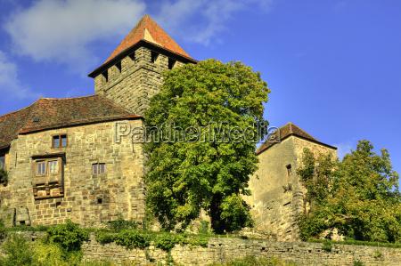 storia fortezza castello medioevo lichtenberg stauferburg
