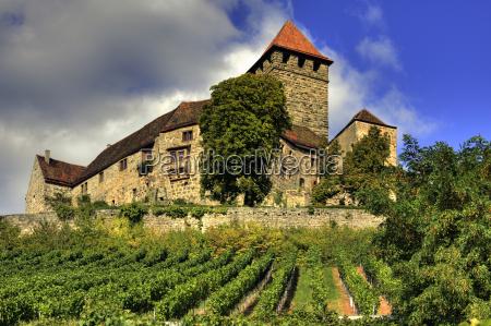 fortezza germania castello medioevo lichtenberg stauferburg