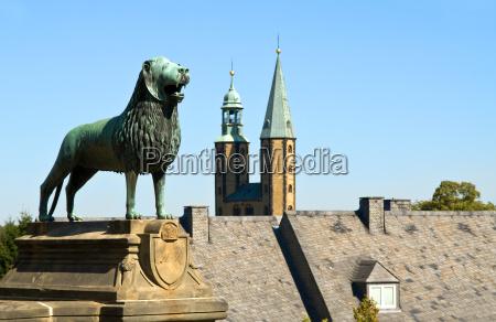 storico storia monumento leone gatto campanile