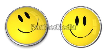pulsante smiley