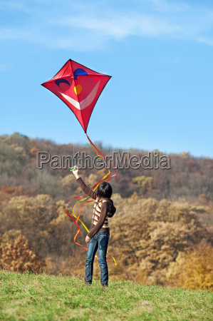 kite battenti in autunno
