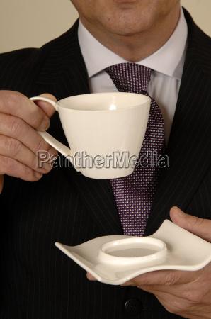 banca caffe uomo daffari businessman incontro