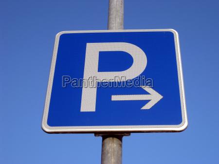 parcheggio a destra