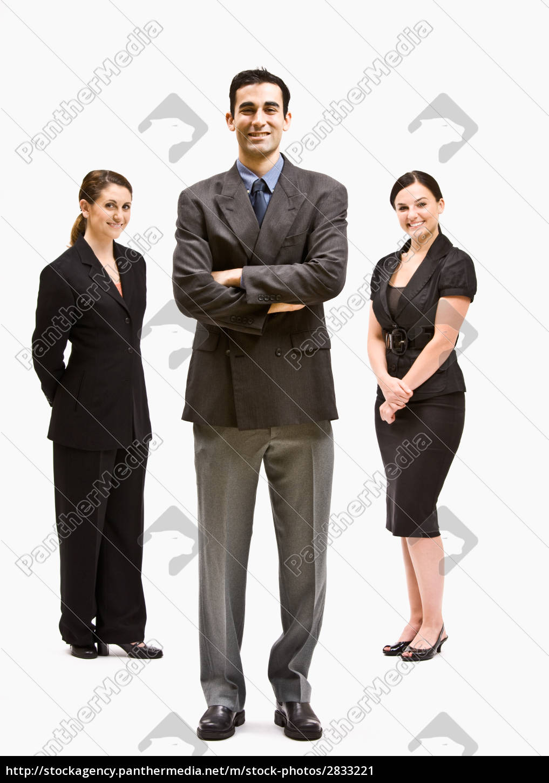uomini, d'affari, sorridenti - 2833221