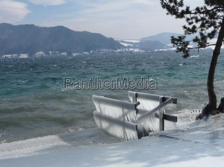 inverno ghiaccio acqua salata mare oceano