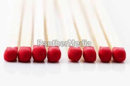 red matchstick