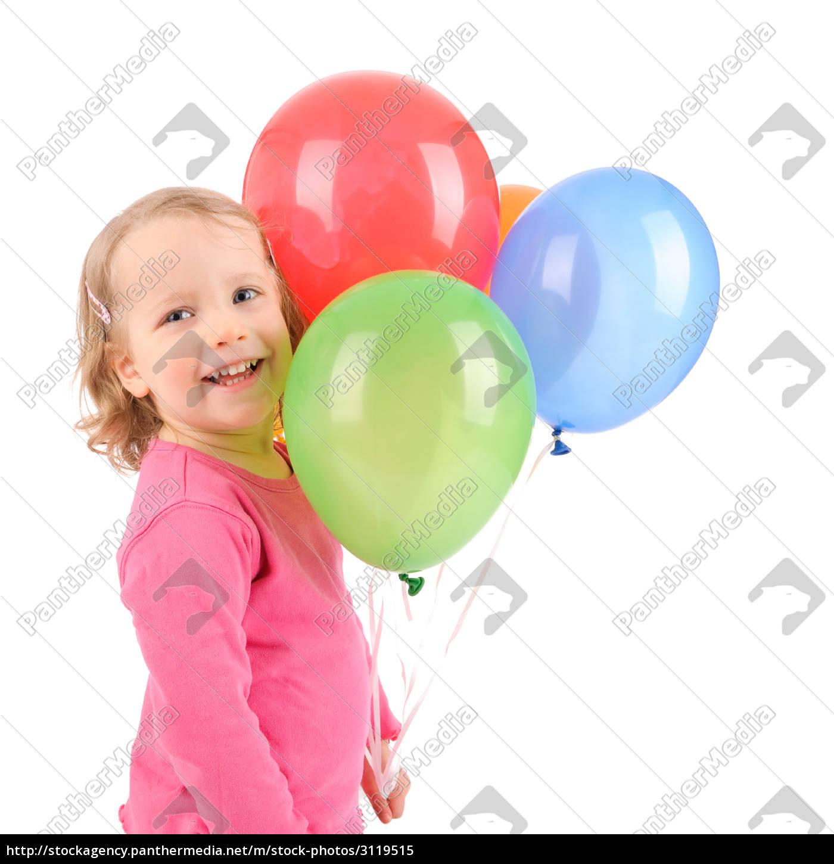 bambino, con, palloncini - 3119515