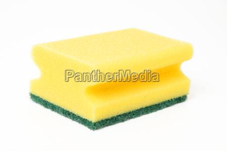 spugna risciacquare pulito bobinare pulizia detergente