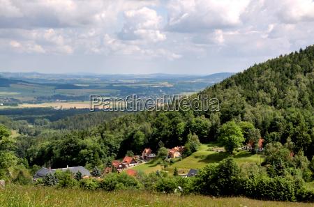 escursione gita sassonia altopiani germania montagna