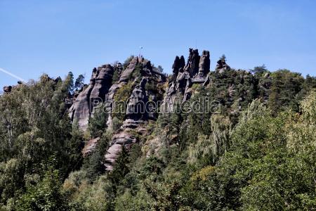 escursione gita rocce roccia sguardo vista