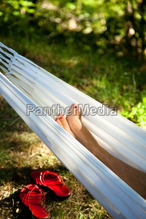 rilassante in unamaca