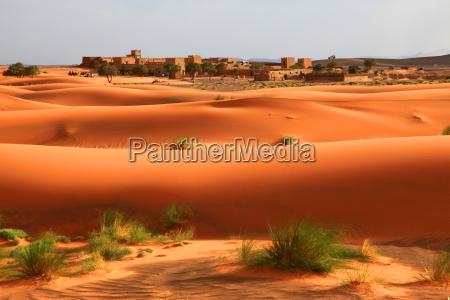 deserto duna marocco sabbie sabbia castello