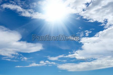 nuvola estate cielo firmamento luce soleggiato