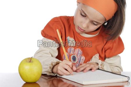 educazione studente adorabile partecipante a un