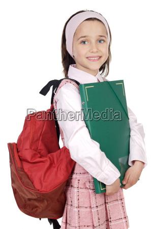 studente adorabile partecipante a un corso
