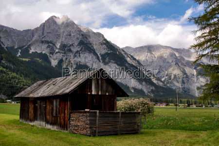 montagne alpi austria tirolo loggia capanna